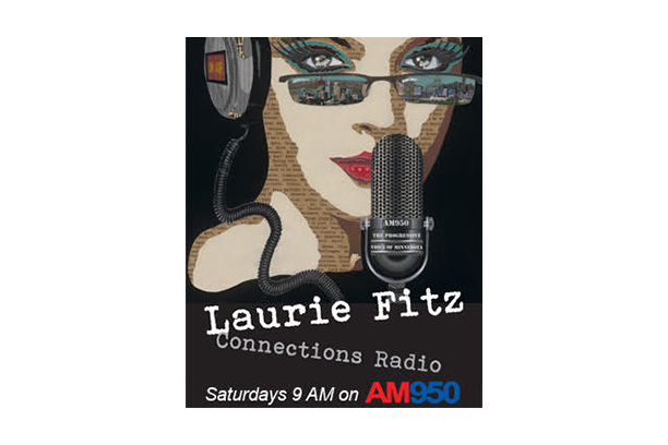 Logo for Connections Radio Laurie Fitz